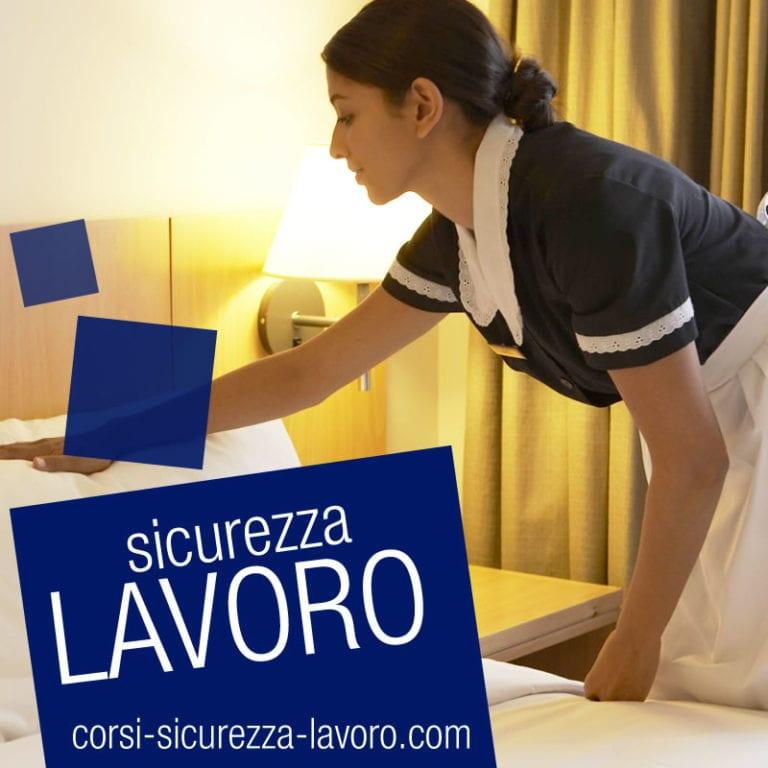 SICUREZZA SUL LAVORO - Camerieri da camera, operatori di alberghi e facchini