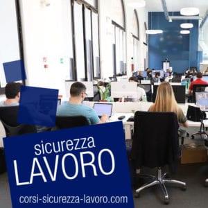 SICUREZZA SUL LAVORO - Operatori di ufficio, segretari, dirigenti, dipendenti